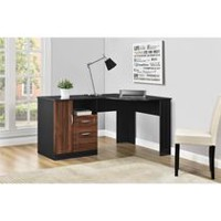 images office furniture. Ameriwood Avalon Corner Desk, Black/Cherry Images Office Furniture
