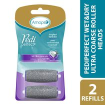 Amope Pedi Perfect Wet & Dry Regular Roller Heads