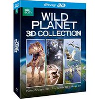 Wild Planet 3D Collection: Planet Dinosaur 3D / Tiny Giants 3D / Wings 3D (Blu-ray 3D)