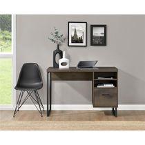 Candon Computer Desk, Medium Brown