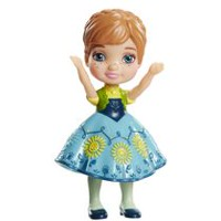 Disney Frozen Mini Toddler Figurine - Anna (Frozen Fever)