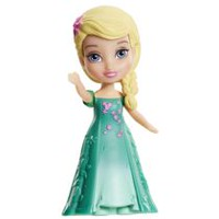 Disney Frozen Mini Toddler Figurine - Elsa (Frozen Fever)