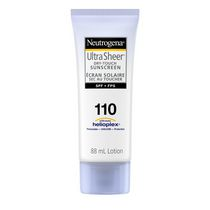Neutrogena® Ultra Sheer® SPF 110 Dry-touch Sunscreen Lotion