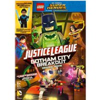 LEGO: DC Comics Super Heroes - Justice League: Gotham City Breakout (DVD + Nightwing LEGO Minifigure) (Bilingual)