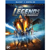 DC's Legends Of Tomorrow: The Complete First Season (Blu-ray + Digital HD)