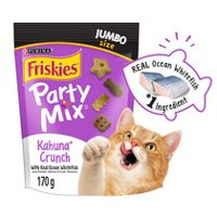 Purina(MD) Friskies(MD) Party Mix(MC) Croquant Kahuna(MC) Gâteries pour Chats 170g