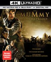 The Mummy: Ultimate Trilogy (4K Ultra HD + Blu-ray + Digital HD) (Bilingual)