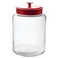 Anchor Hocking 2.5 Gallon Montana Jar with Red Lid
