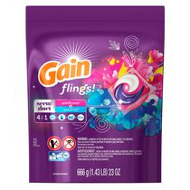 Gain flings! Scent Duets 4 in 1 Wildflower and Waterfall Laundry Detergent