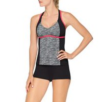 Athletic Works Tankini Swim Top S