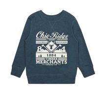 George British Design Boys Ohio Print Sweatshirt 10