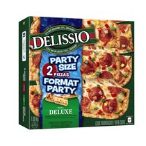 DELISSIO® Party Size Deluxe Pepperoni and Bell Peppers Pizza