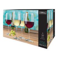 Libbey Glass Wine & Dine Premium Oversized Wine Set