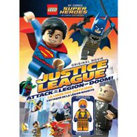 Film LEGO: DC Comics Super Heroes - Justice League: Attack Of The Legion Of Doom! (DVD + Figurine) (Bilingual)