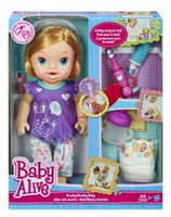 Baby Alive Brushy Brushy Doll