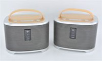 2 Pair of Multi-room Bluetooth and Wi-Fi  Speakers by Sharper Image