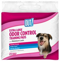 OUT! Odor Control Training Pads 50XL pads