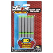 Air Warriors Ultra-Tek 20 Count Suction Dart Refill Pack