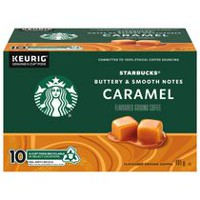 Starbucks® Caramel Naturally Flavoured K-Cup® pods 10ct