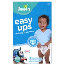 Pampers Easy Ups Training Underwear for Boys, Giant Pack 2T-3T