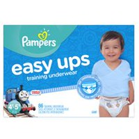 Pampers Easy Ups Training Underwear for Boys, Giant Pack 4T-5T