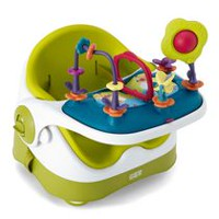Mamas & Papas Baby Bud Booster Seat with Play Tray - Lime