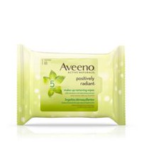 AVEENO® POSITIVELY RADIANT® Make-up Removing Wipes, 25 Count