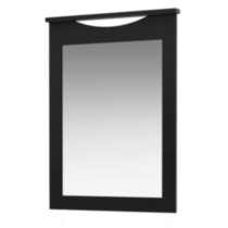 South Shore SoHo Collection Mirror Black
