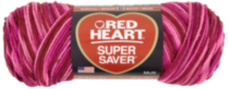 Red Heart Supersaver Multi Coloured