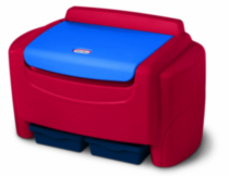 Little Tikes Blue & Red Toy Chest