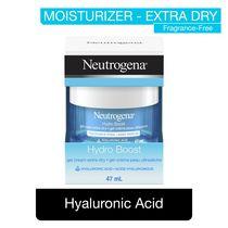 Gel-crème Neutrogena Hydro Boost pour peau très sèche - Acide hyaluronique pour hydrater la peau, Gel hydratant - 47 ml