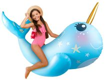 Play Day - Narwhal Pool Float