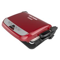 George Foreman Red Evolve Grill System with Ceramic Plates