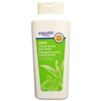 Equate Clean & Simple Aloe Scented Body Wash