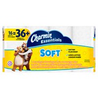 Papier hygiénique Essentials Soft de Charmin