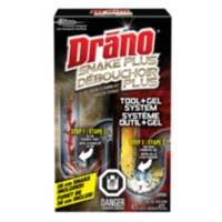 Drano Snake Plus Tool + Gel Cleaning Kit