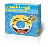 Incredible Novelties Giant Lol Emoji Pool Float