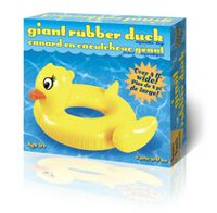 Incredible Novelties Giant Rubber Duck Pool Float
