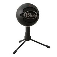 Blue Microphones 1929 Snowball Black Ice Condenser Microphone