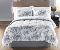 Mainstays 5 Piece Floral Twin Bed in a Bag
