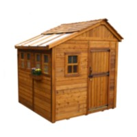 8' x 8' Sunshed Garden Shed