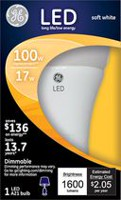 General Electric 17W Soft White LED Bulb A21 - 1 Pack