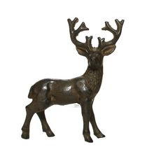Canadiana Cast Iron Buck Figurine