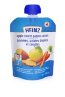 Heinz Strained Apple Sweet Potato Carrot Pouch