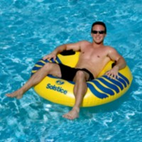 Blue Wave Sports Lay Z River 47 In Inflatable River Float