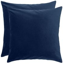 hometrends Velvet Decorative Cushion (Set of 2)