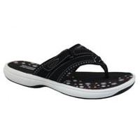 Ladies George Mandy Comfort Thong Sandals 10