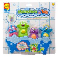 Alex Toys Rub a Dub Monsters in my Tub Bath Toys