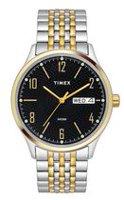 f2b8b10d2791 Timex® Classic Men s Analog Watch. Black Dial Two Tone ...