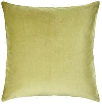 hometrends Solid Velvet Decorative Pillow